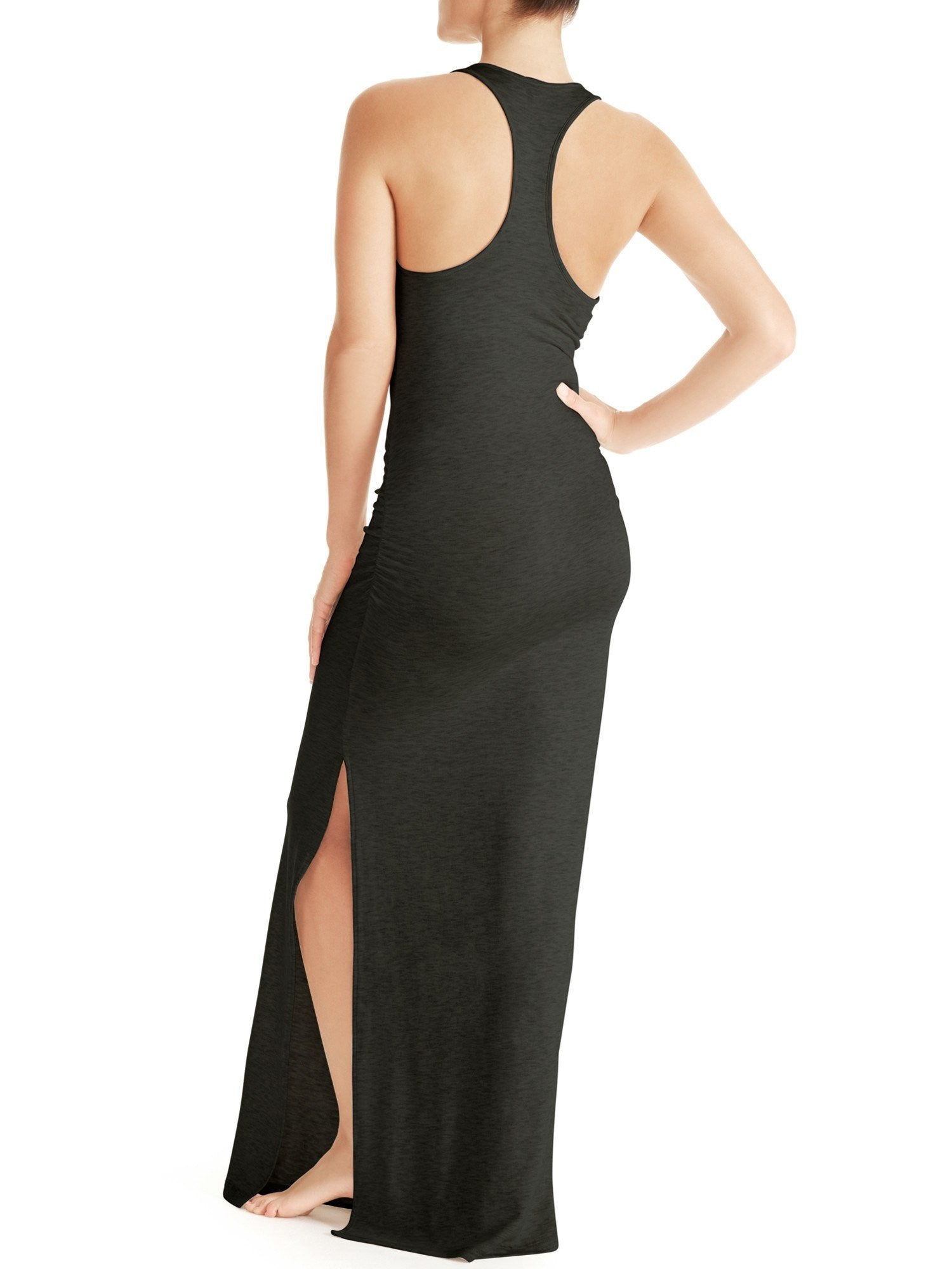Ava Racer Back Maxi Dresses by Naked Princess