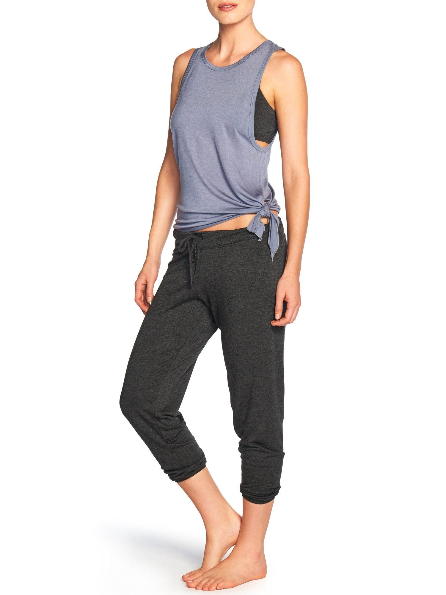 Ava Crop Pant Bottoms by Le Marché by NP