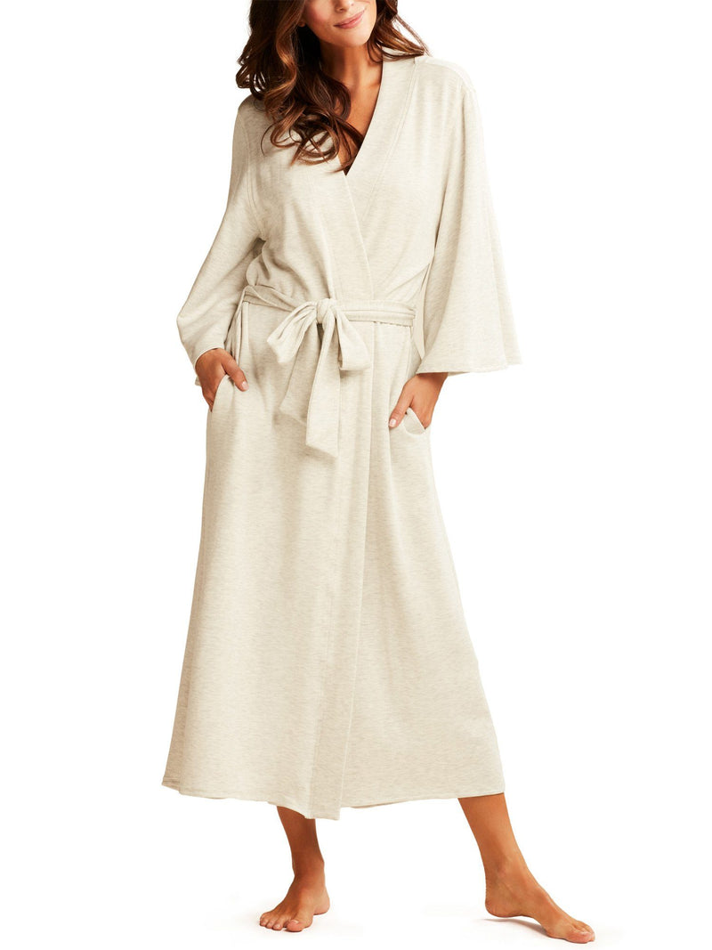 Ava Long Robe Robes by Le Marché by NP