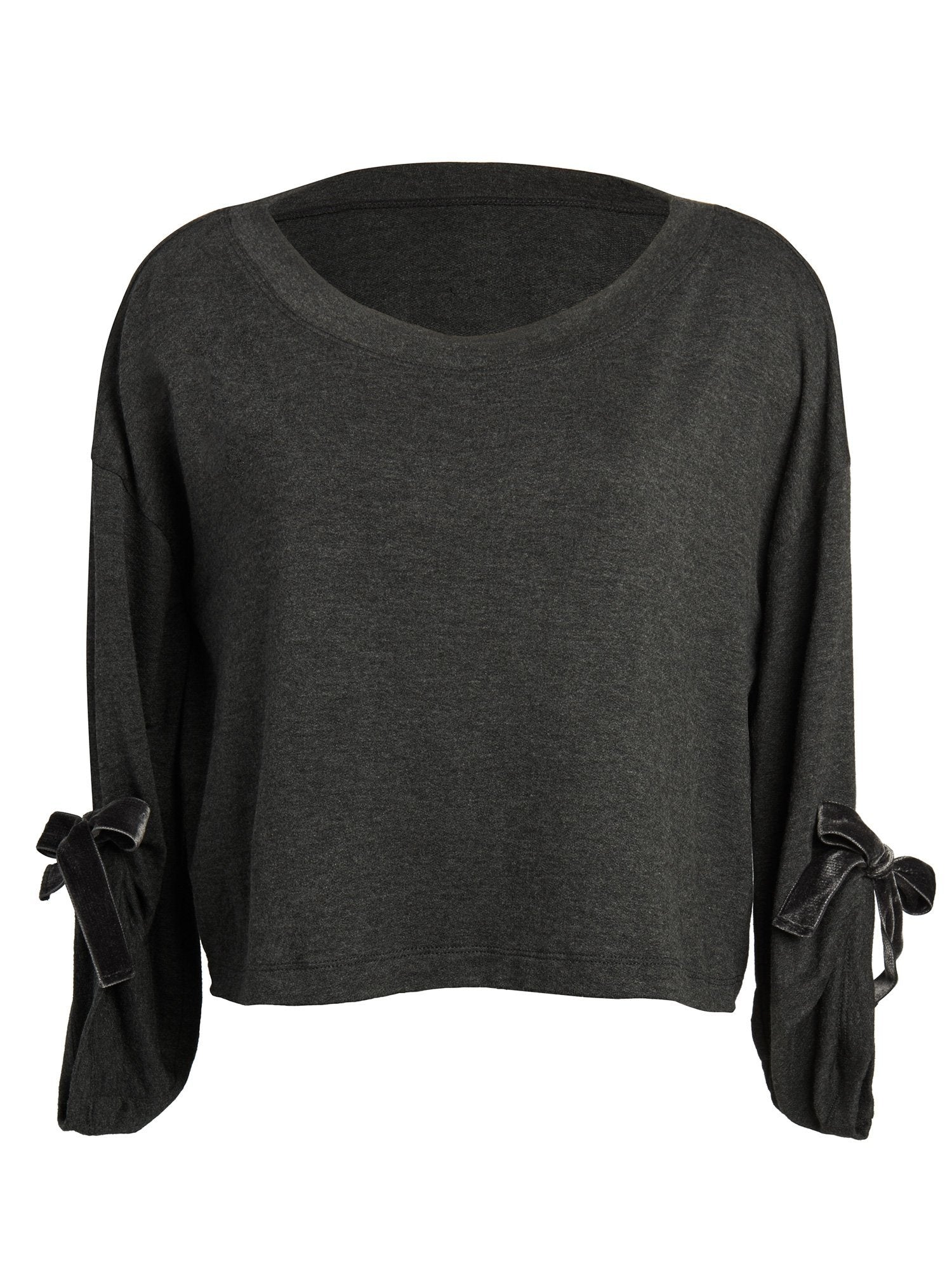 Ava Tie Sleeve Top Tops by Le Marché by NP