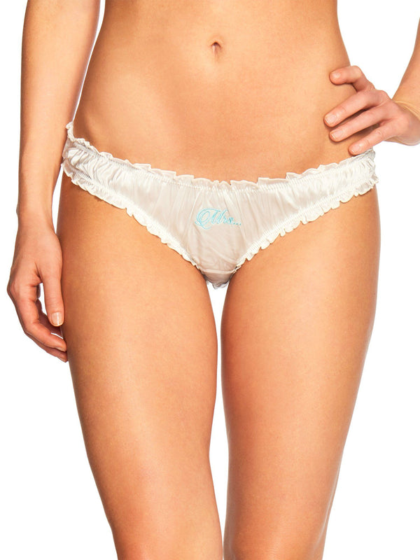 Bridal Bikini - Mrs. Embroidery Bras & Panties by Le Marché by NP
