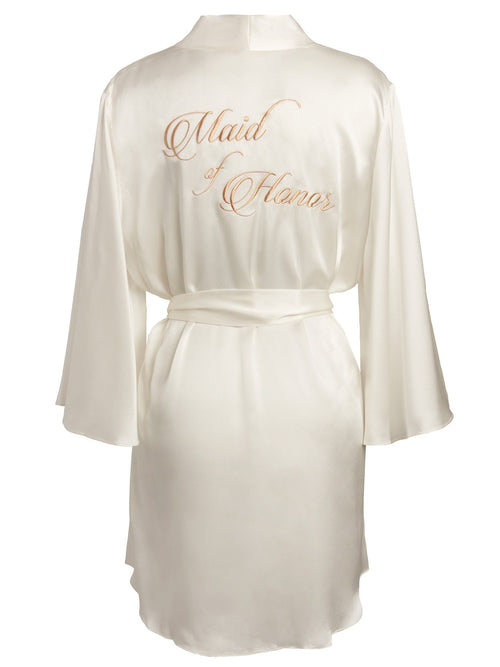 Bridal Robe - Maid of Honor Robes by Naked Princess