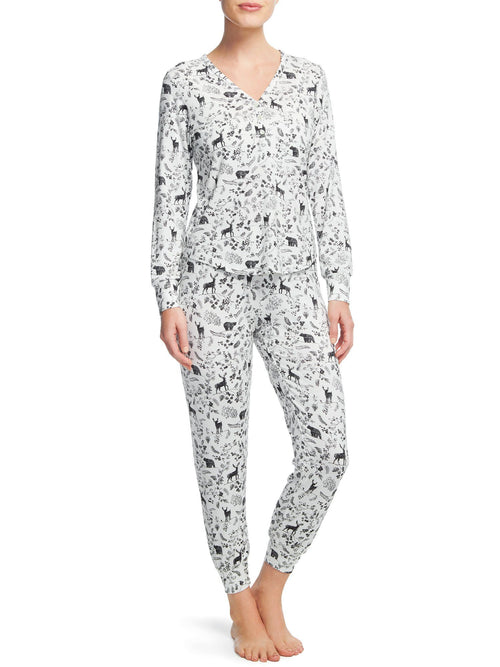 Signature Montana PJ Set Pajama Sets by Le Marché by NP