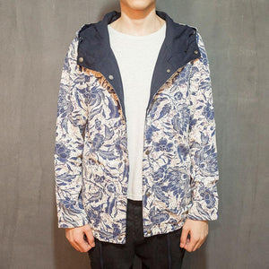 Active Jackets - 2 In 1 Hawaii Floral Street Coat