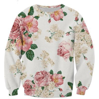 NEW Floral Sweater