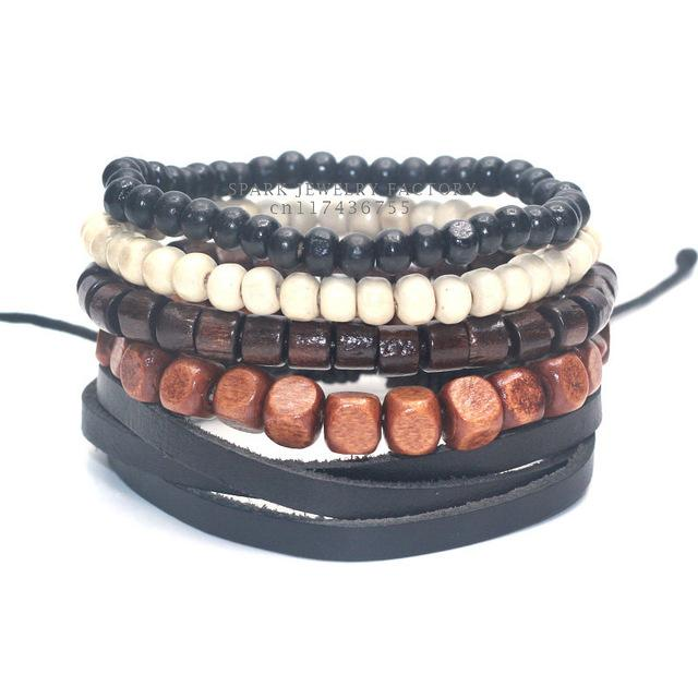 Outdoor Accessories - Hawaiian Lava-Rock Bracelet Set