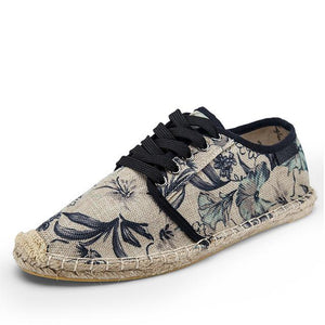 Outdoor Accessories - Limited Edition Hawaiian Men Floral Espadrilles