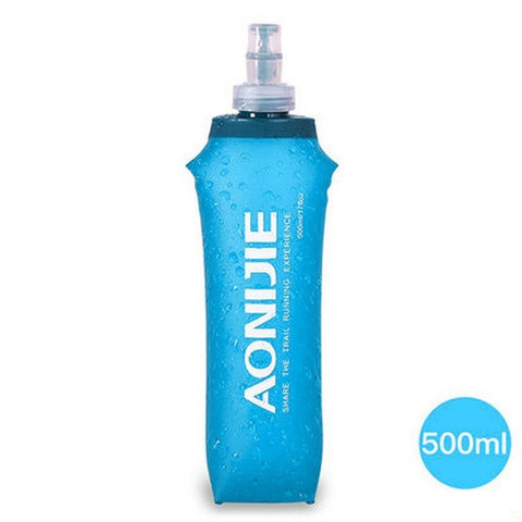Outdoor Accessories - Outdoors Foldable Blue Water Bottle