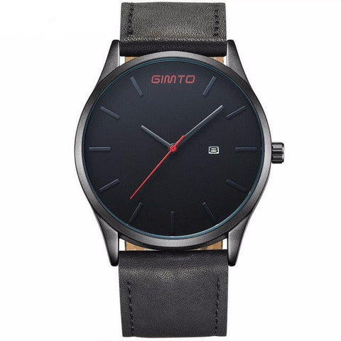 Watches - High Quality Leather Quartz Wrist Watch