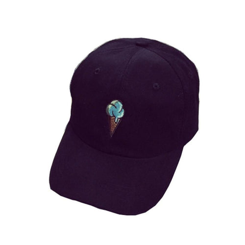 Ice Cream Cone Dad Hat
