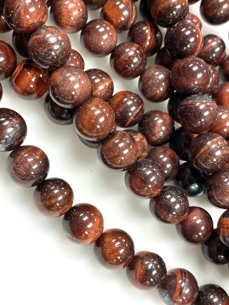 Natural Green Tiger Eye Gemstone Beads / Round Shape Beads / Healing Energy Stone Beads / 10mm 2 Strands Beads