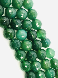Natural Forest green Indian Agate Beads, Agate Smooth Beads,12mm Round Shape Beads