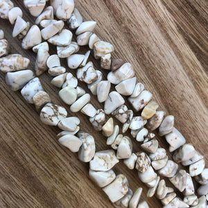Natural Hawlite Beads, Hawlite Gemstone Beads, Hawlite Chips Smooth Beads