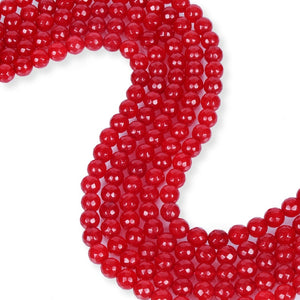 Natural Red Agate Beads, Agate Round Shape Beads, 8 mm Smooth Agate Stone Beads