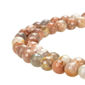 Natural Stone Beads, Natural Stone Round 8 mm Smooth Beads