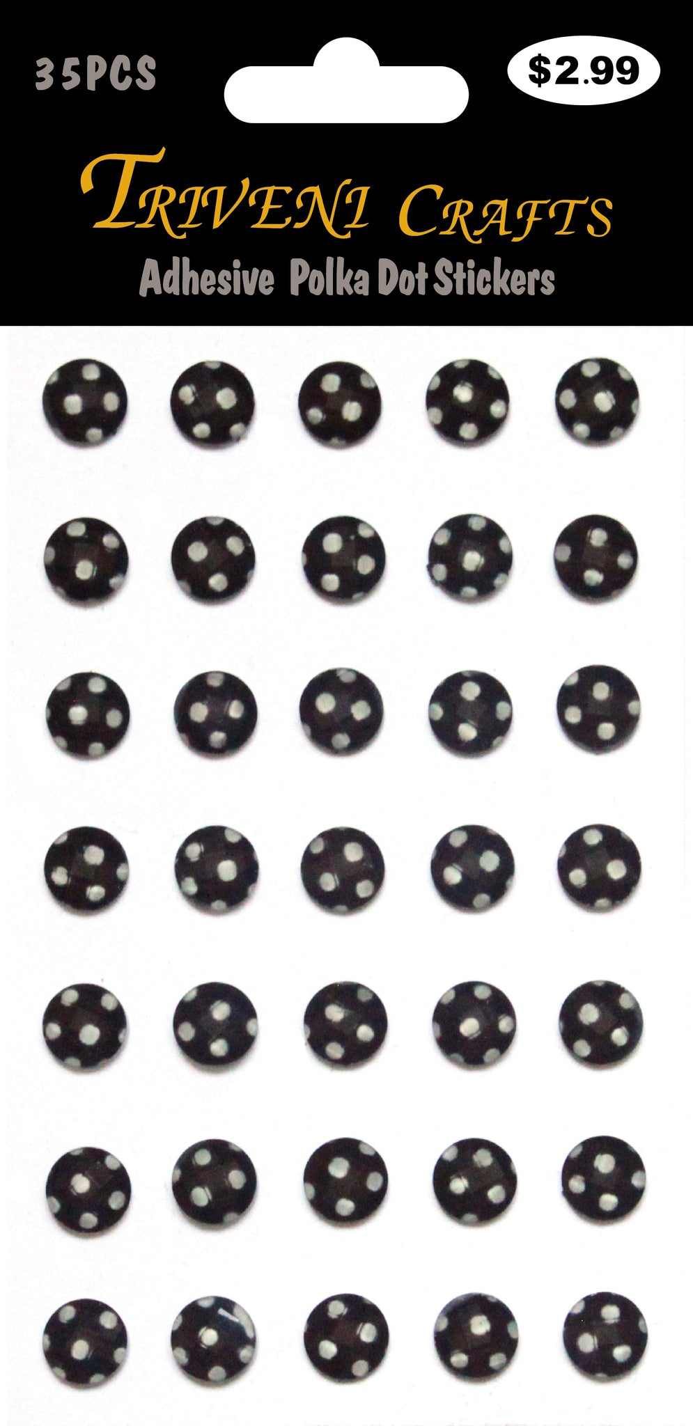 Adhesive  Polka Dot Stickers
