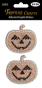 Adhesive Pumpkin Stickers