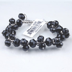 BRAC-238: Crystal Dangle Ball Bracelet