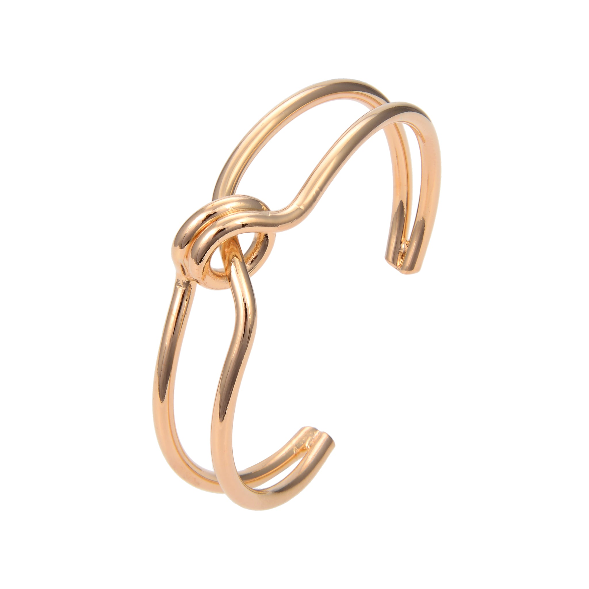 Gold Plated Bangle Bracelet, Gold Plated Geomatric Adjustable Bangle Bracelet