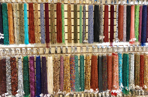 6mm Round Semi-Precious Stone Beads Assortment / 150 Strands!