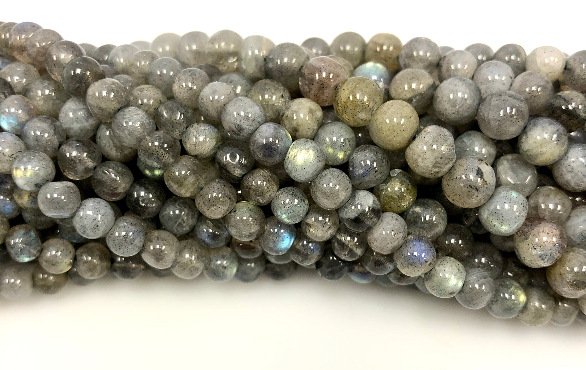 Natural Labradorite Beads, Smooth Beads, Round Shape Labradorite  Beads