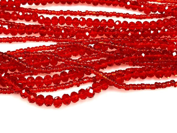 Fire Polish Crystal Beads Rondelle 4mm 450 Beads