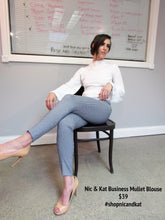 NIC & KAT THE BUSINESS MULLET BLOUSE