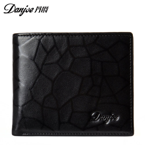DANJUE mens wallet Crocodile hide design