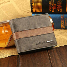 Vintage faux leather wallet