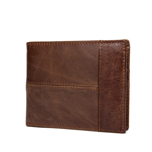 DALFR Genuine Leather Mens Wallet