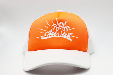 """Chillax"" Trucker Hat"