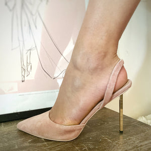 Allegra Suede Stiletto