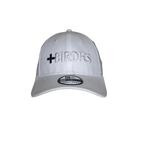 New Era 39Thirty White Team MoreBirdies Cap
