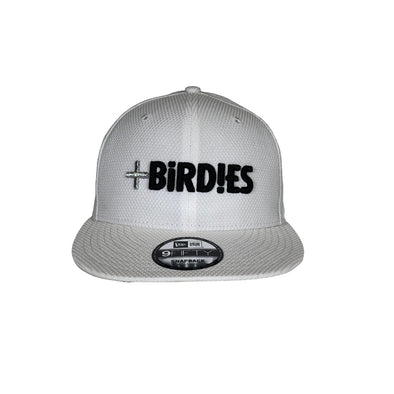 New Era 9Fifty SnapBack White MoreBirdies Cap