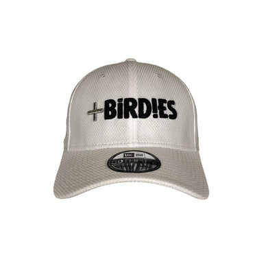 New Era 39Thirty White MoreBirdies Cap