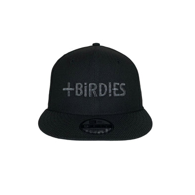 New Era 9Fifthy Snapback Black Out Edition MoreBirdies Cap