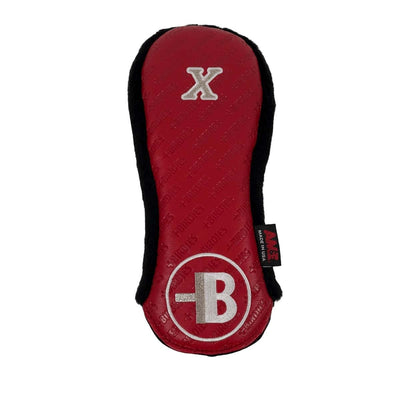 AM&E Red MoreBirdies X-wood Leather Headcover