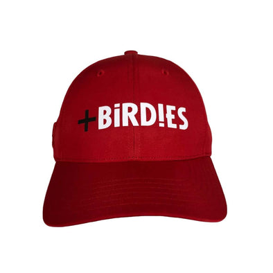 Adidas Golf Red Morebirdies Performance Cap
