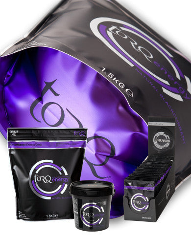 TORQ Energy 500 g Blackcurrant