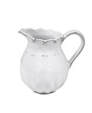 Set of 4 Antoinette White Creamer
