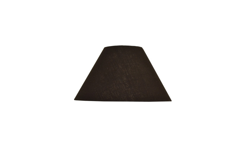 Black Round Lampshade