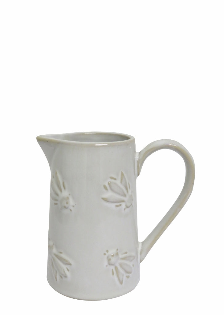 Set of 6 Abeille Cream Petite Jug