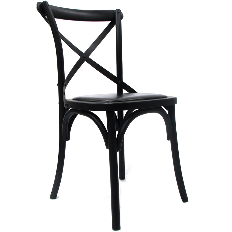 Dining Chair Black & Black