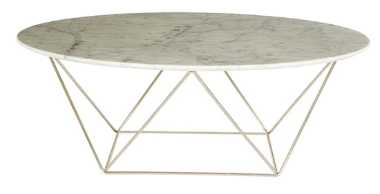 Como Coffee Table Marble Large
