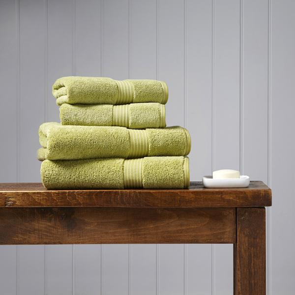 Christy Supreme Hygro Towels - Green Hues