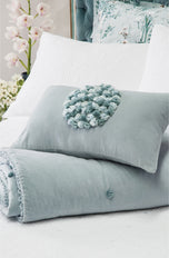 Greta Powder Blue Comforter