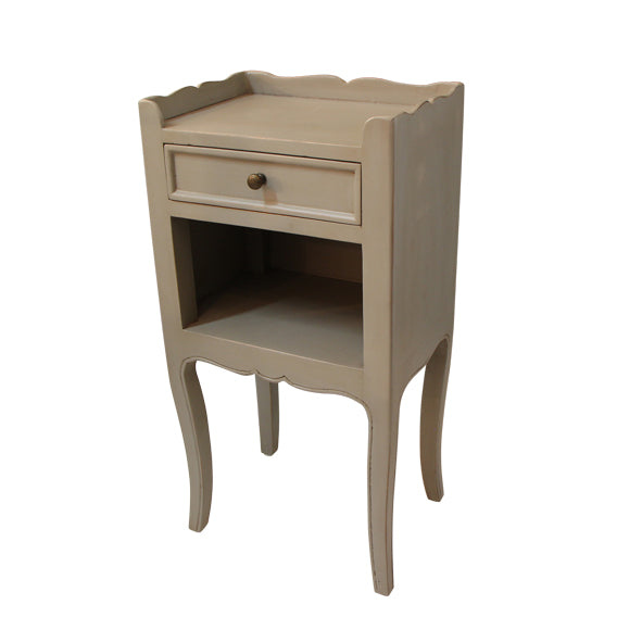 Grey Wash Side Table