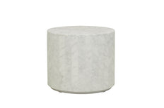 Elle Block Round Side Table