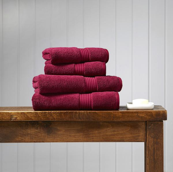 Christy Supreme Hygro Towels - Rasberry