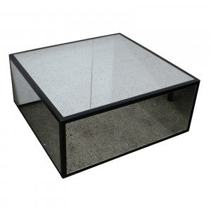 Ebony & mirror - Coffee Table